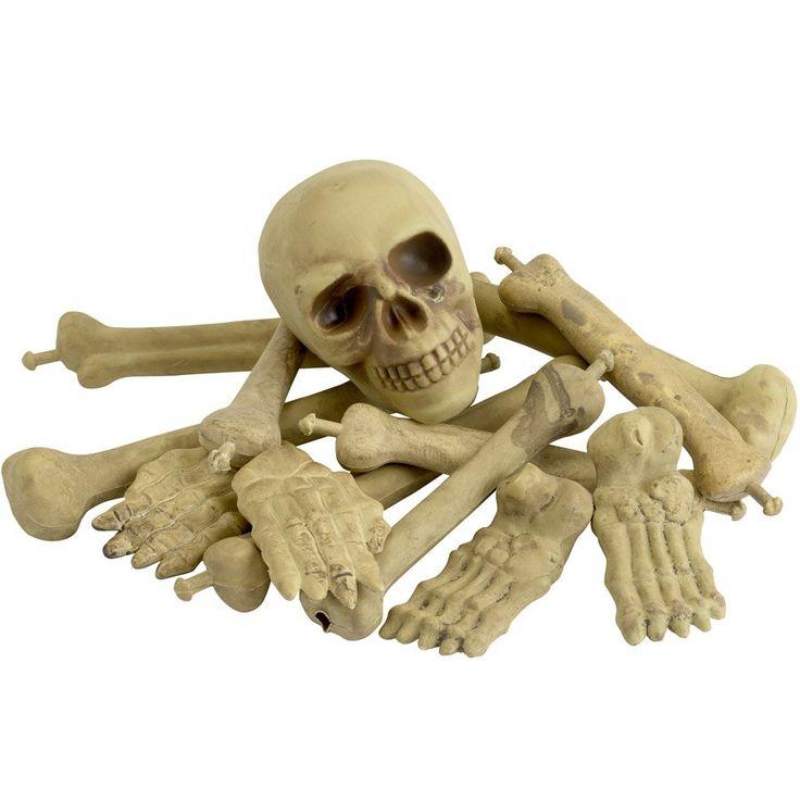 Ensemble Crâne, Os, Pieds et Mains #Halloween #LeGuide