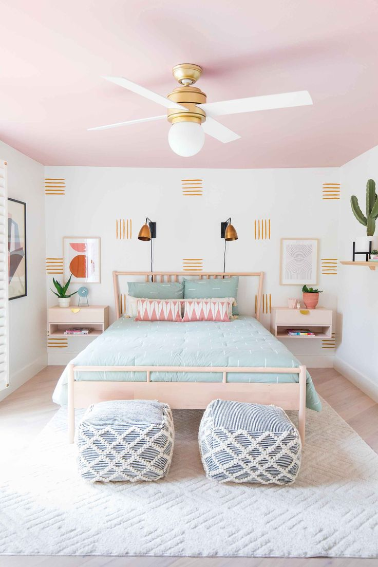 How to Paint an Accent Wall + Our Guest Bedroom Makeover