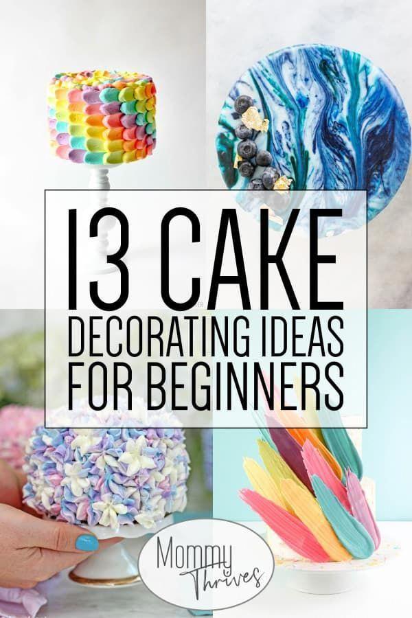 Tortendekoration für Anfänger – Einfache Tortendekoration Ideen, Tipps und Tricks – 1 …   – cake recipes