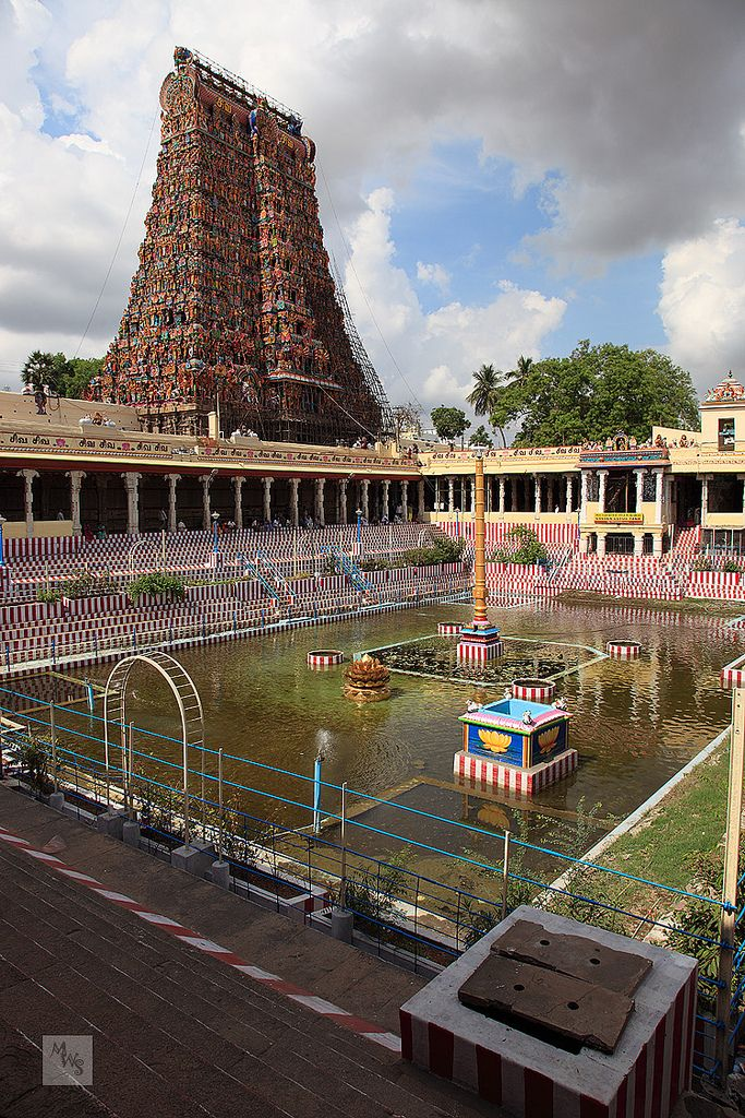 Meenakshi-Sundareshwarar Temple, Madurai, Tamil Nadu, India