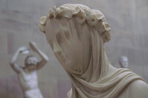 The Veiled Vestal Virgin By Raffaele Monti Dating From