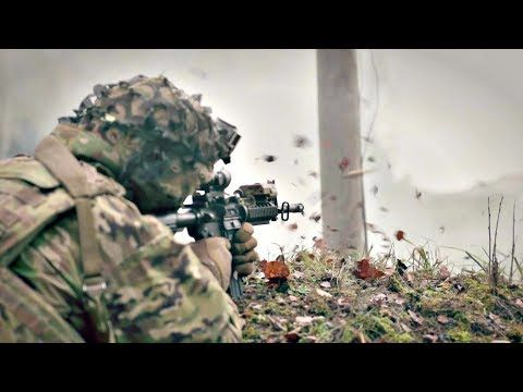 US Army 173rd Airborne Brigade Showcase Fighting Capabilities During Live-Fire Training