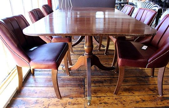 Antique Mahogany Table - WARINGS Store