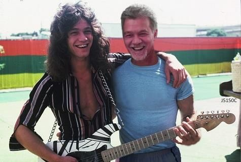 Eddie Van Halen - Then and Now