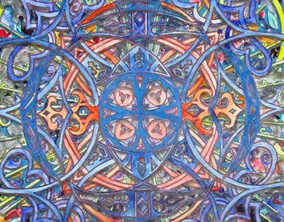 "Check out new work on my @Behance portfolio: ""Interweaving"" http://be.net/gallery/37016643/Interweaving"