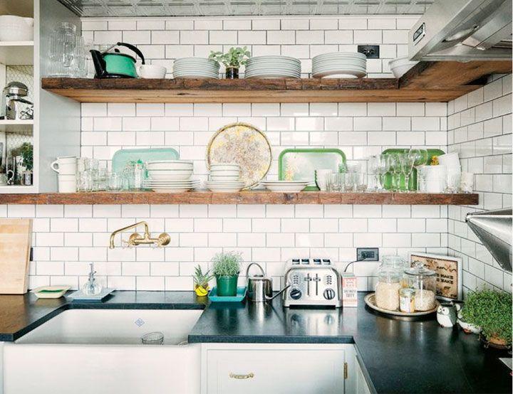 5 Tips voor Open Wandplanken in de Keuken
