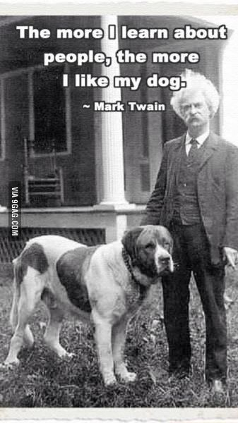 Mark Twain made a point