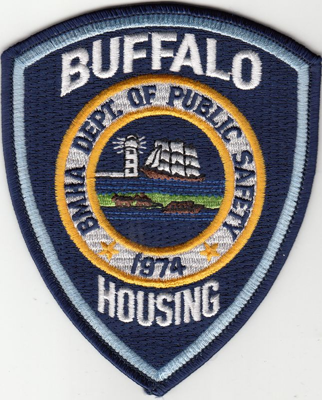 Us State Of New York City Of Buffalo Municipal Housing Authority Department Of Public Safety Patch Police Badge Law Enforcement Vehicle Logos