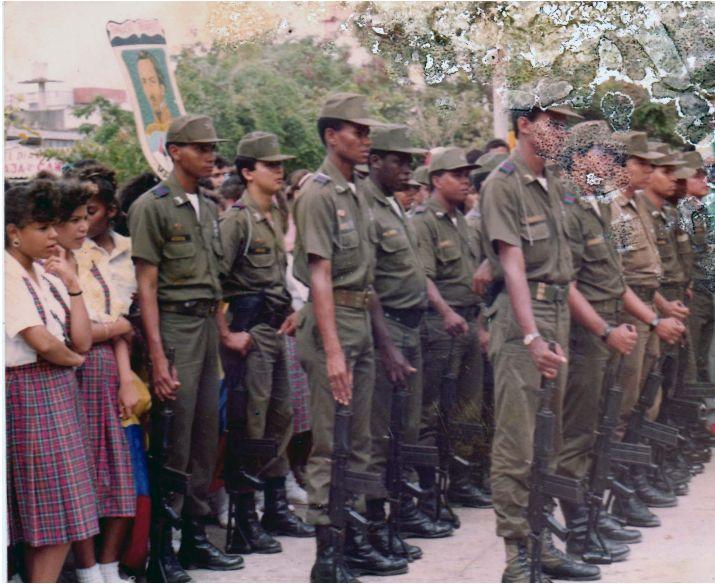 Aniversario de la Policía Nacional, Guajira 1991
