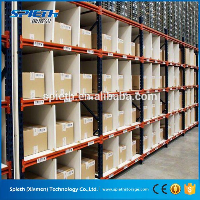 warehouse storage powder coated longspan shelving