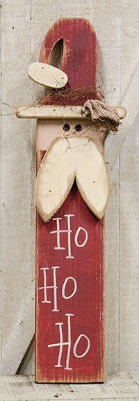 KP Creek Gifts - Skinny Ho Ho Ho Santa