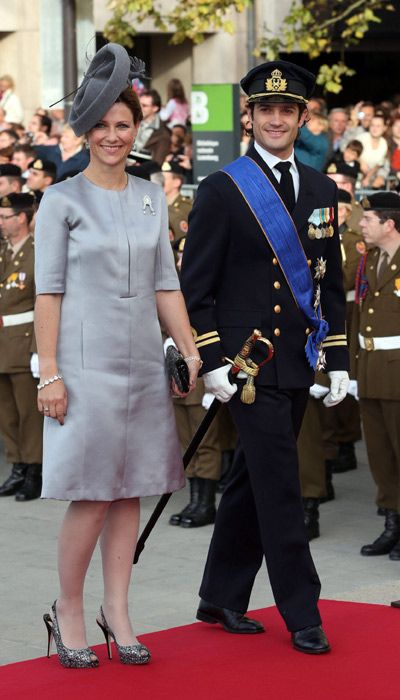 Prince Carl- Philip and Princess Madeleine of Sweden - Guillaume and Stephanie wed in glorious ceremony - Picture 15