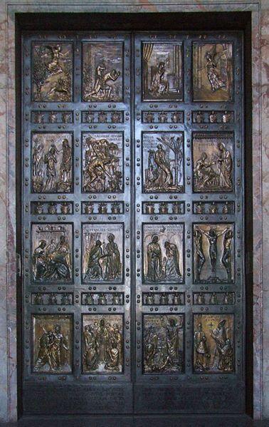 Papal Selection Doorway - Vatican City