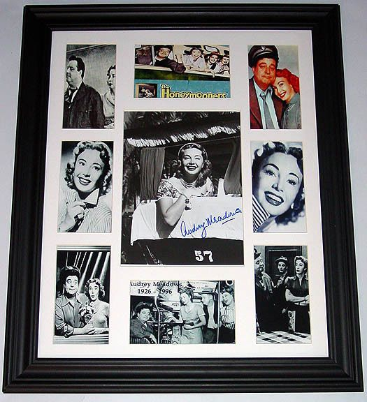 Audrey Meadows Autographed Signed Photo Display PSA/DNA    AFTAL