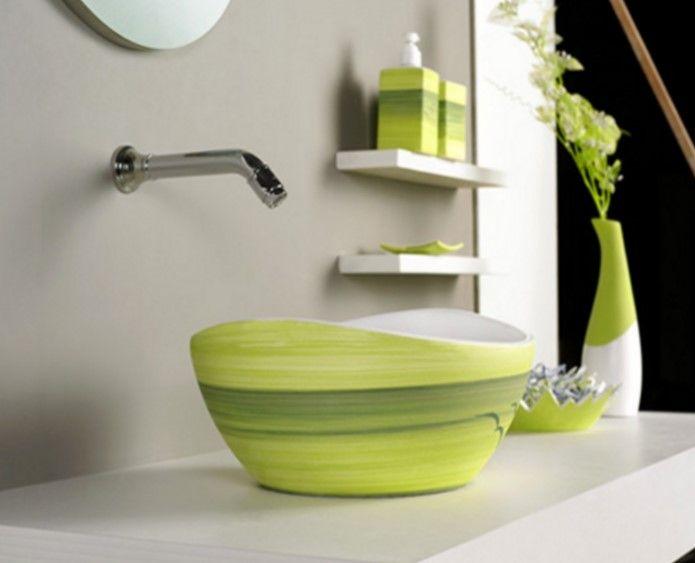 Bad Waschbecken Modelle ,Coole Ideen für modernes Waschbecken im Bad