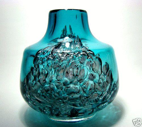 Vase FLORIDA Heinrich Löffelhardt  / Schott Zwiesel 60er Design Klassiker TOP !