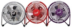 "4"" High Velocity Fan (Available in 6 colors) College Dorm Appliances"