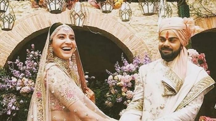 anushka sharma and virat kohli wedding photos New