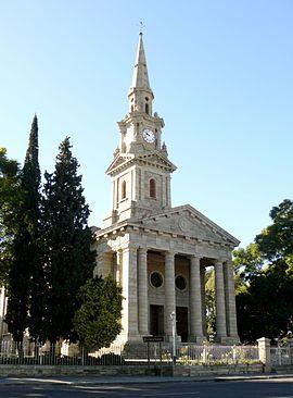 NG gemeente Cradock - Cradock se NG kerkgebou is gegrond op St Martin-in-the-Fields in Londen.