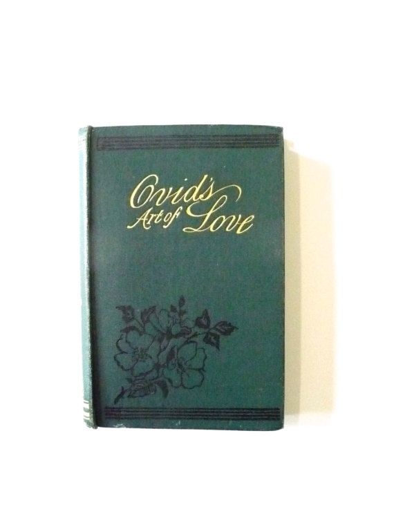 Ovid's Art of Love Antique Book