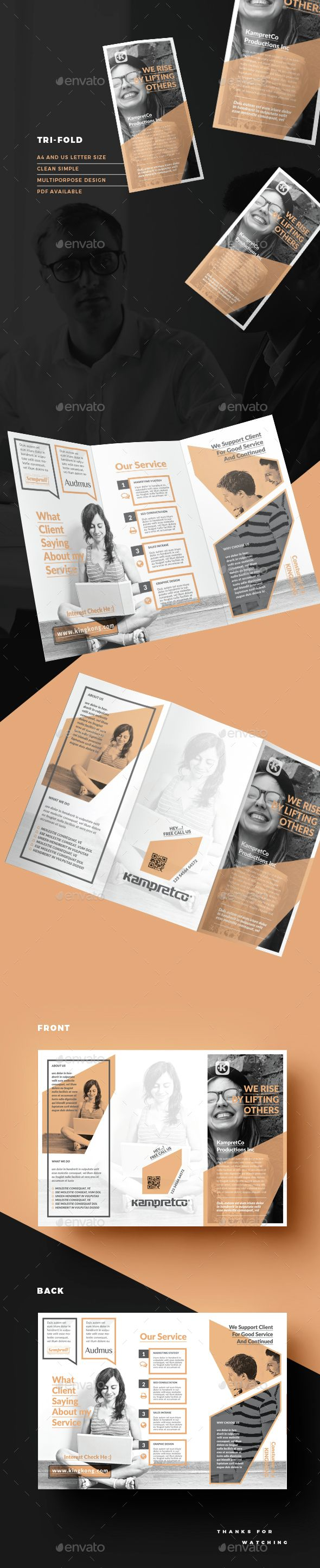 Trifold Brochure Template InDesign INDD. Download here: http://graphicriver.net/item/trifold/14813143?ref=ksioks