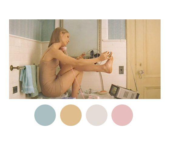 As paletas de cores de Wes Anderson