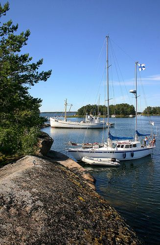 Archipelago around Hamina on Finlands South Shore