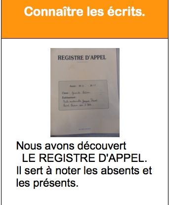 CARTES D'APPRENTISSAGE