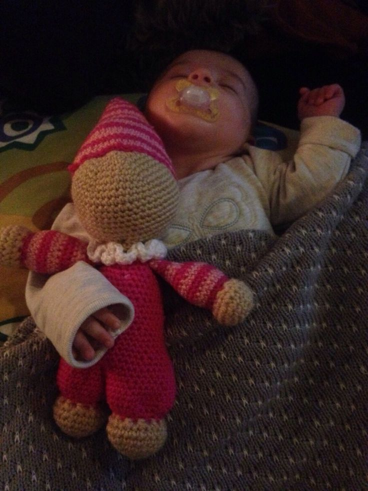 Made the cuddle doll (and the baby also)