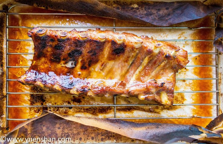 Chinese Barbecue Ribs - You will polish your plates and fingers too with these fall-off-the-bone ribs!