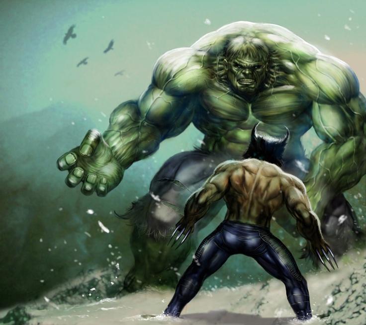 hulk vs wolverine: Marvel Comics, Art, Wolverines, Comic Book, Superheroes, Hulk, Comic Hero