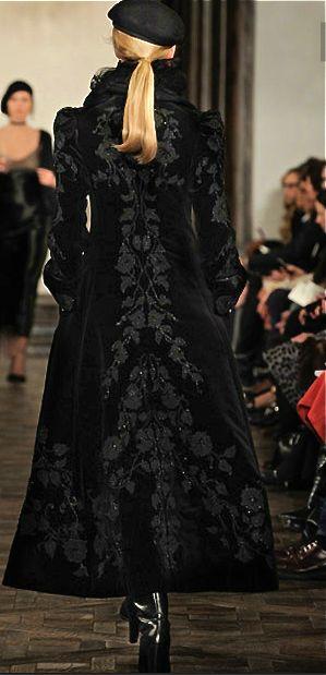 Ralph Lauren, 2013, velvet coat I love this coat an will dream it shows up in my closet