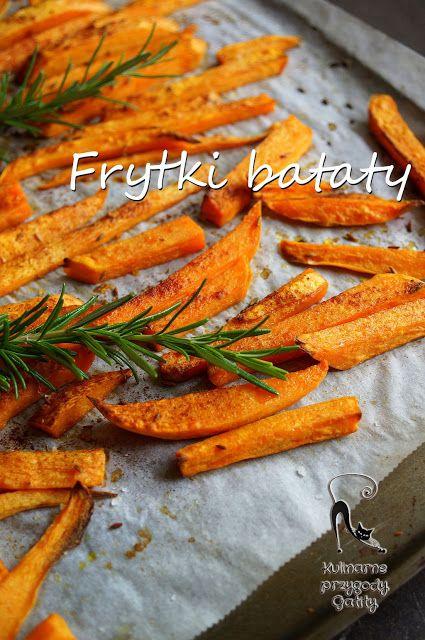 Kulinarne przygody Gatity: Pieczone frytki z batatów