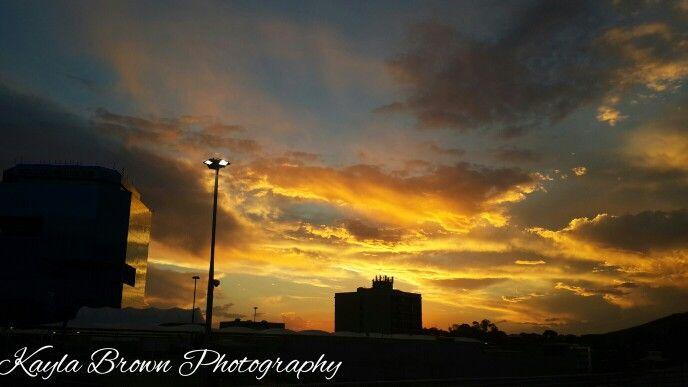 Silhouette Sunset  Kayla Brown Photography