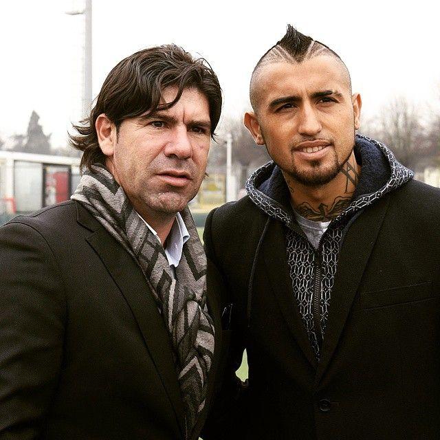 Marcelo #Salas e Arturo #Vidal