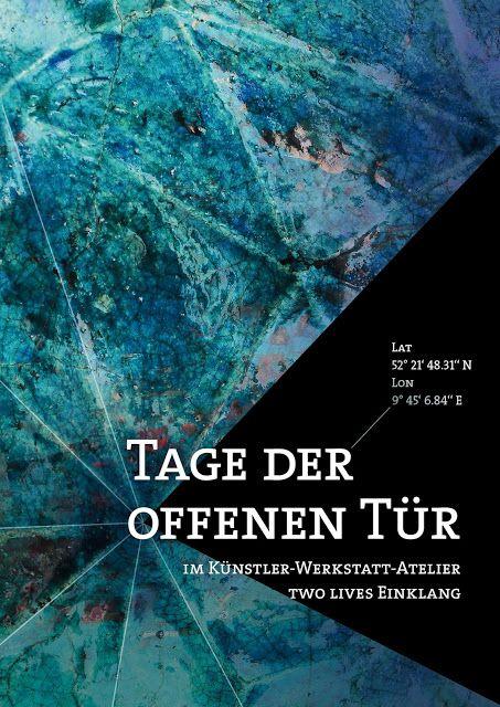 two lives Einklang / Werkstatt-Atelier: Geschafft! Mit Verzögerung ist er nun unterwegs in...