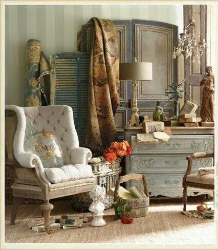 Best Modern French Country Images On Pinterest Living Room - Modern french country