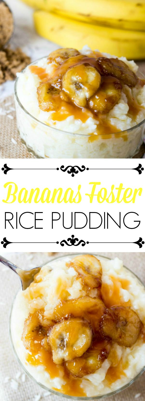 Want a quick and easy dessert option? This Bananas Foster Rice Pudding is done in less than 30 minutes and a great back-to-school treat! #Back2SchoolSuccess #ad @successrice