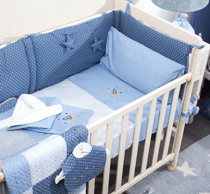 SÁBANA AZULIN - Dormitorio Bebé - Textura Baby & kids - Textura Interiors - Tienda online