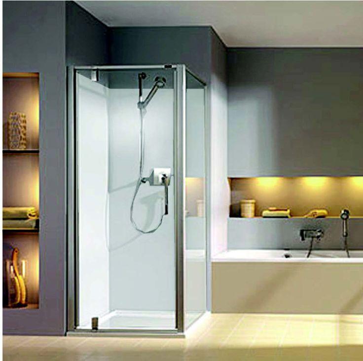 25 beste idee n over douche wanden op pinterest gegalvaniseerde tinnen muren en badkamer - Water badkamer model ...