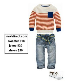 toddler boy's outfit.