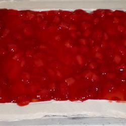 Strawberry Cake Filling. Made this for my husbands birthday cake and it was a hit!!!!