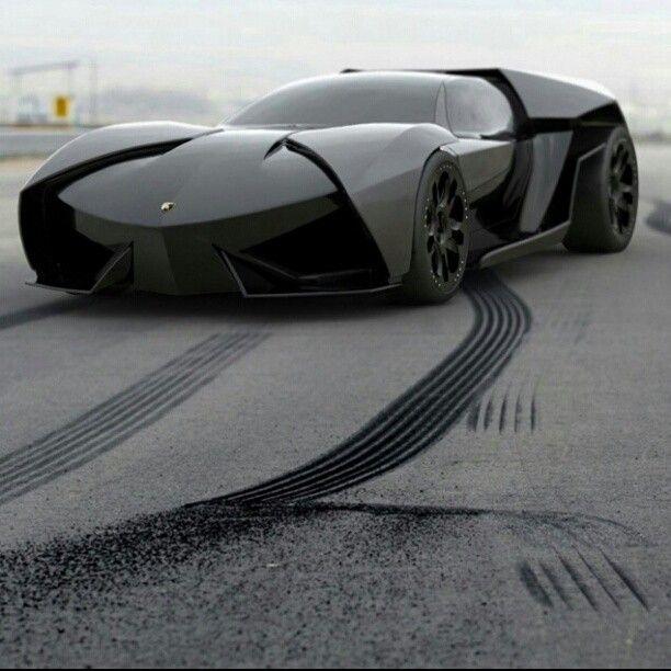 Lamborghini Ankonian Concept #batmobile