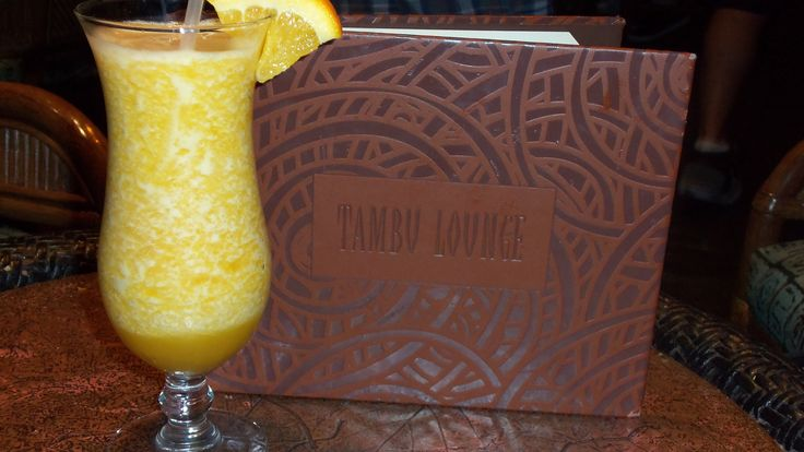 Island Sunset (A delicious blend of spiced rum, coconut rum, melon, and peach combined with our guava passion fruit juice)