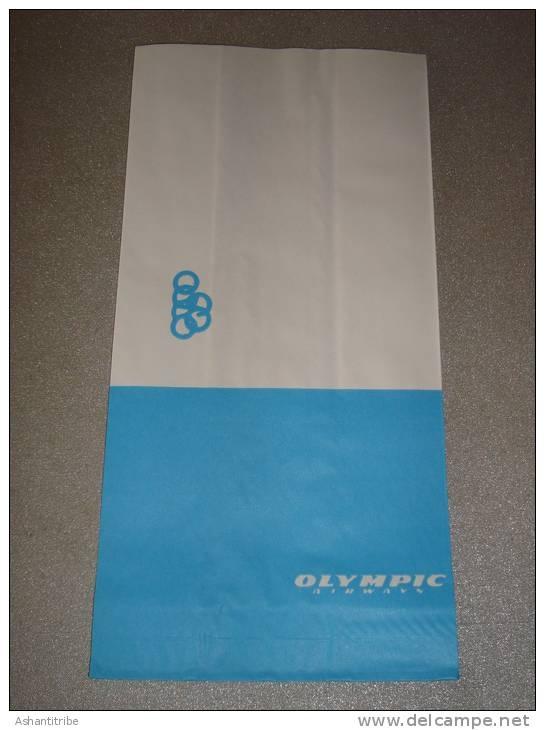 OLYMPIC AIRWAYS - Greece / airplane paper bag
