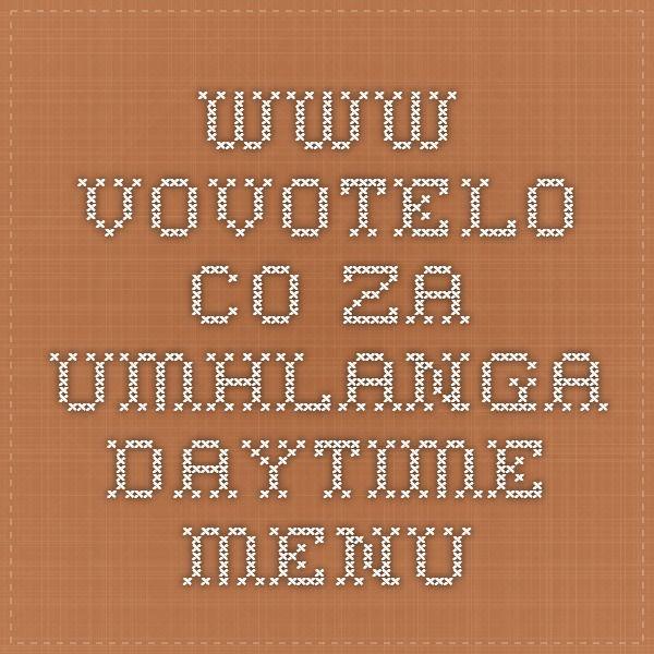 www.vovotelo.co.za umhlanga daytime menu