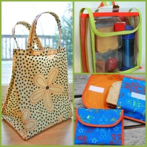 How to Make a Lunch Bag: 14 Reusable Totes, Sacks, and Snack Bags | AllFreeSewing.com