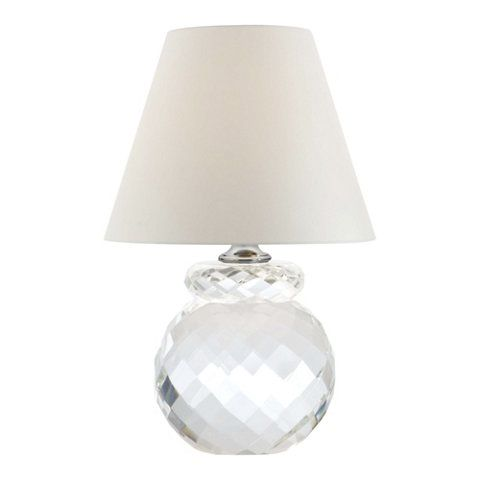Daniela Accent Lamp in Clear Crystal - Table Lamps - Lighting - Products - Ralph Lauren Home - RalphLaurenHome.com