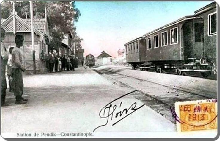 Pendik tren istasyonu - 1913