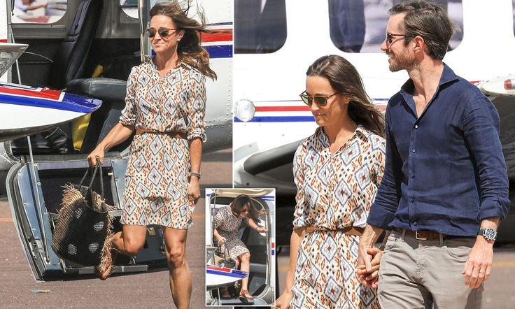 Pippa Middleton and James Matthews landed in Darwin on their way to Perth after spending three days in a luxury wild bush resort as part of their whirlwind Australian honeymoon.